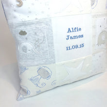 Load image into Gallery viewer, Patchwork Keepsake Cushion