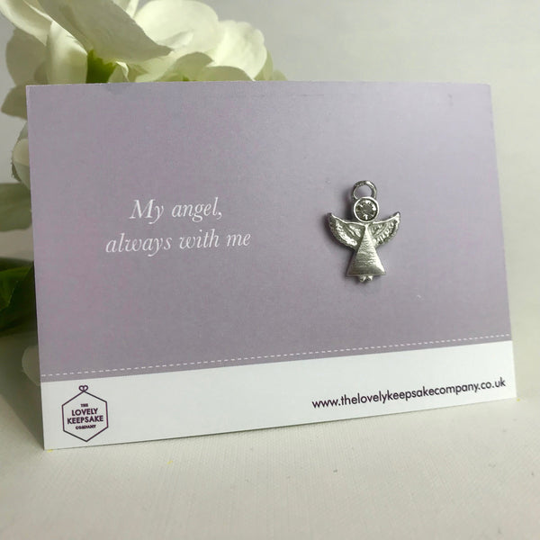 'My Angel Always With Me' Angel Pin