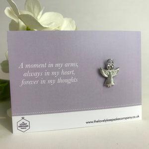 'A Moment in my Arms' Angel Pin