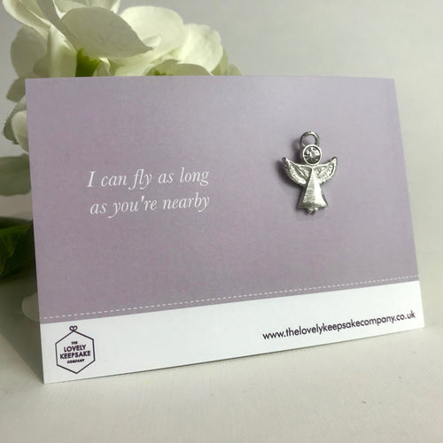 'I can fly as long as you're nearby' Angel Pin