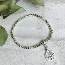 Load image into Gallery viewer, Tree of Life Bracelet with Quote Card - Various Thoughtful Quotes