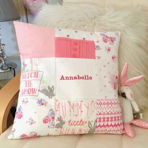Patchwork Keepsake Cushion