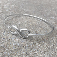 Load image into Gallery viewer, Sterling Silver Infinity Bangle Create Your Own Personalised Gift Box