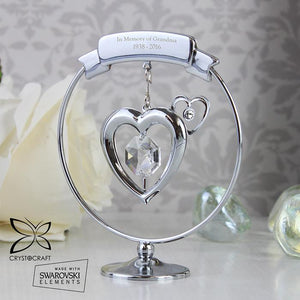 You added Personalised Crystocraft Heart Ornament to your cart.