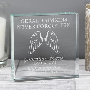 You added Personalised Angel Wings Large Crystal Token to your cart.