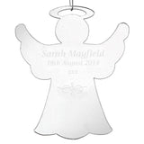 Personalised Christmas Decoration - Acrylic Angel