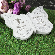 Load image into Gallery viewer, Personalised Fairy Garden Butterfly Ornament