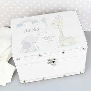 You added Personalised White Leatherette Keepsake Box to your cart.