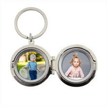Load image into Gallery viewer, Personalised Classic Photo Keyring - Any Message/Occasion