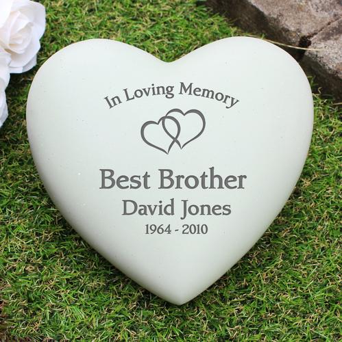 Floating Hearts Personalised Heart Memorial