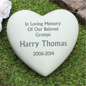 You added In Loving Memory Heart Memorial to your cart.