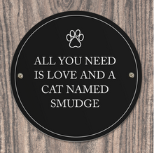 Load image into Gallery viewer, Personalised Indoor or Outdoor Pet Plaque