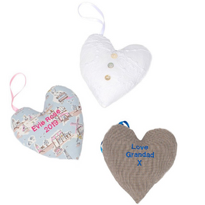 You added Your Own Keepsake Fabric Heart to your cart.