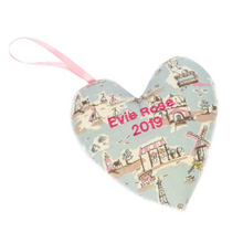 Load image into Gallery viewer, Your Own Keepsake Fabric Heart