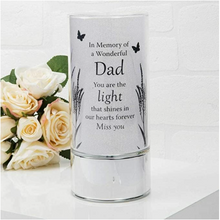 Load image into Gallery viewer, Thoughts of You Memorial Tube Light - Dad