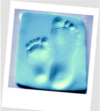 Load image into Gallery viewer, Clay Baby Hand & Foot Impression Moulding Kit-White, Blue or Pink
