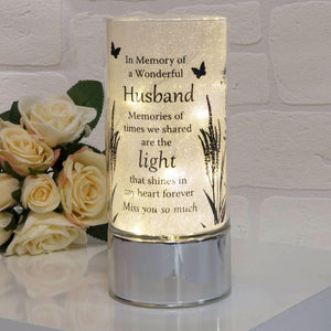 You added Thoughts of You Memorial Tube Light - Husband to your cart.