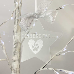 You added Personalised Pet Memorial. Clear Acrylic Star with Name, Pawprint and Heart. to your cart.