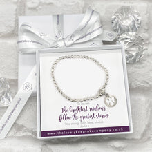 Load image into Gallery viewer, Angel Charm Bracelet Personalised Gift Box - Various Thoughtful Messages