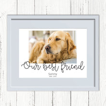 Load image into Gallery viewer, Pet Personalised Photo Print