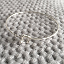 Load image into Gallery viewer, Sterling Silver Friendship Knot Bangle Create Your Own Personalised Gift Box