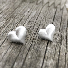 Load image into Gallery viewer, Sterling Silver Heart Stud Earrings Create Your Own Personalised Gift Box