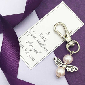 You added Small Memorial Guardian Angel Keyring to your cart.
