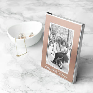 You added Personalised Small Rose Gold Any Message Photo Frame to your cart.