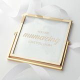 Engraved Mumazing Gold Frame