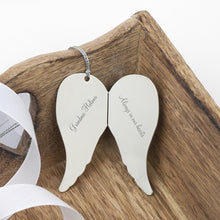 Load image into Gallery viewer, In Loving Memory Angel Wings Keepsake