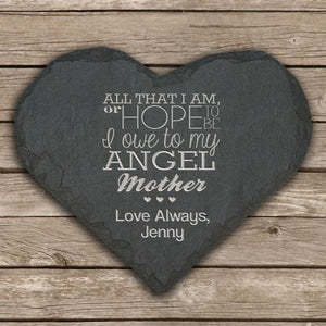 You added Personalised 'My Angel Mother' Slate Heart Keepsake to your cart.