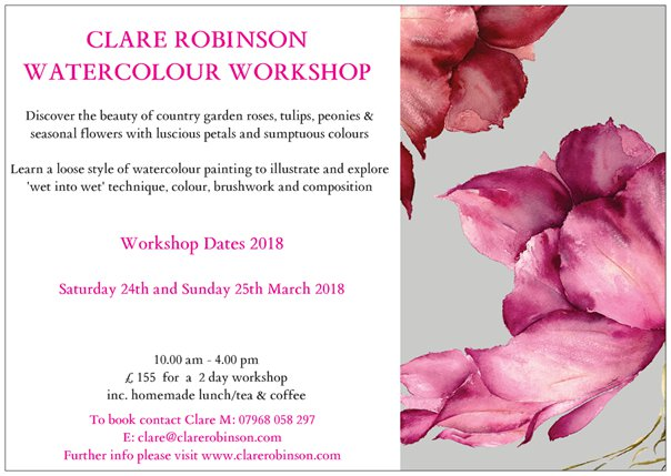 Gloagburn Farm Weekend Painting Course - MARCH 2018