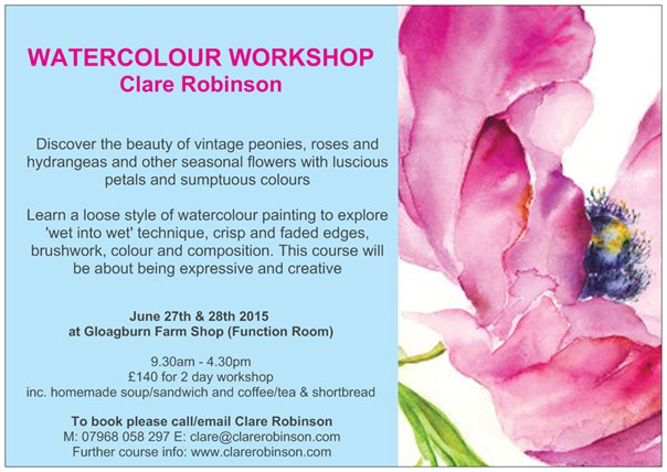 Summer Workshop 2015 - Gloagburn Farm
