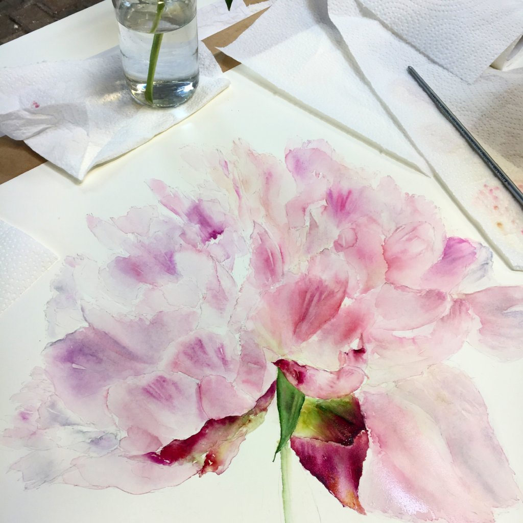 Weekend Painting Workshop at Gloagburn Farm, Perth 27th-28th April 2019