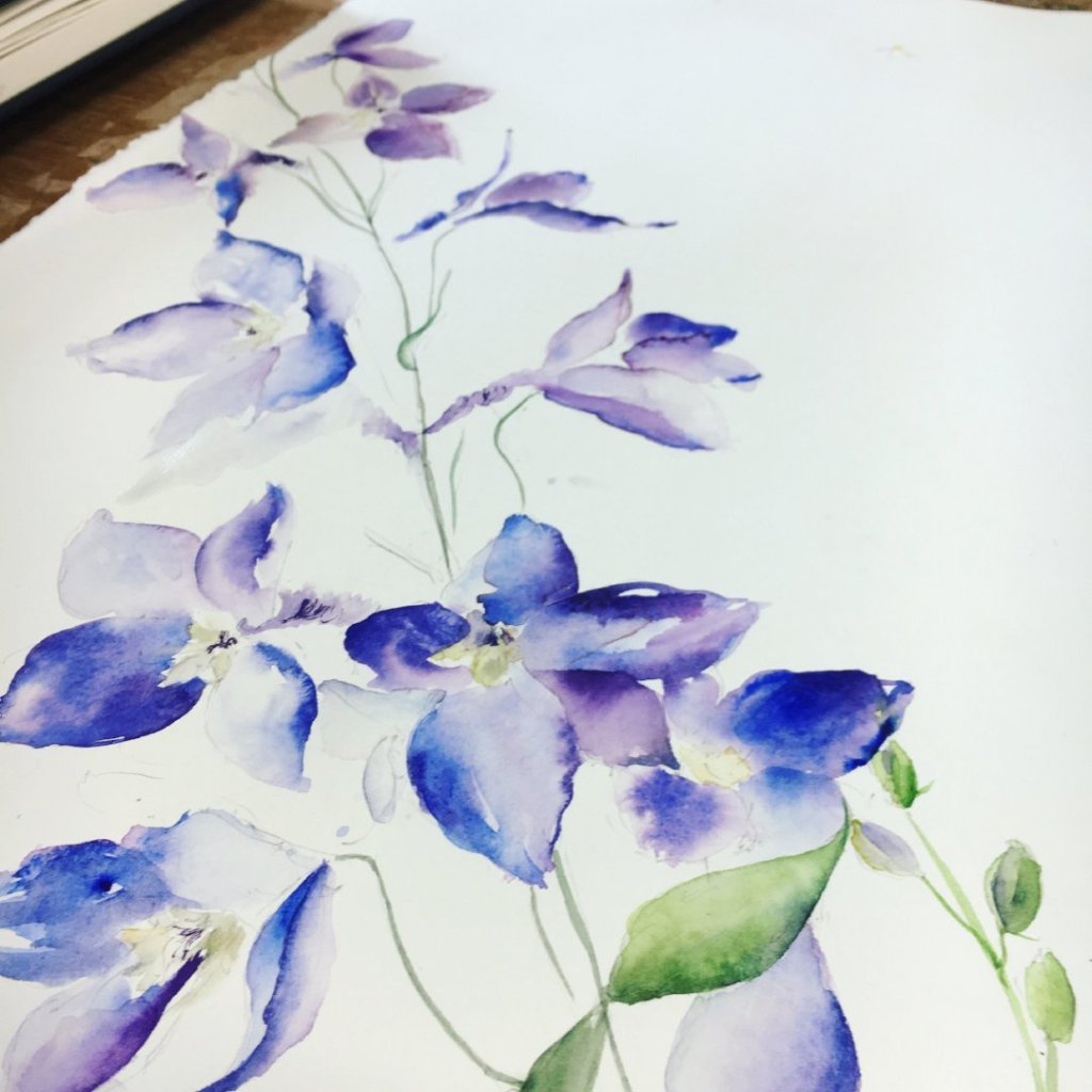 NEW - Wellness and Creative Watercolour Workshop at Mills Hill Farm, Crieff