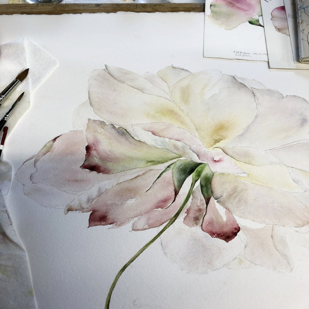 Loose Style Watercolour Course  at the Royal Botanic Garden Edinburgh 24th April-26th June 2019