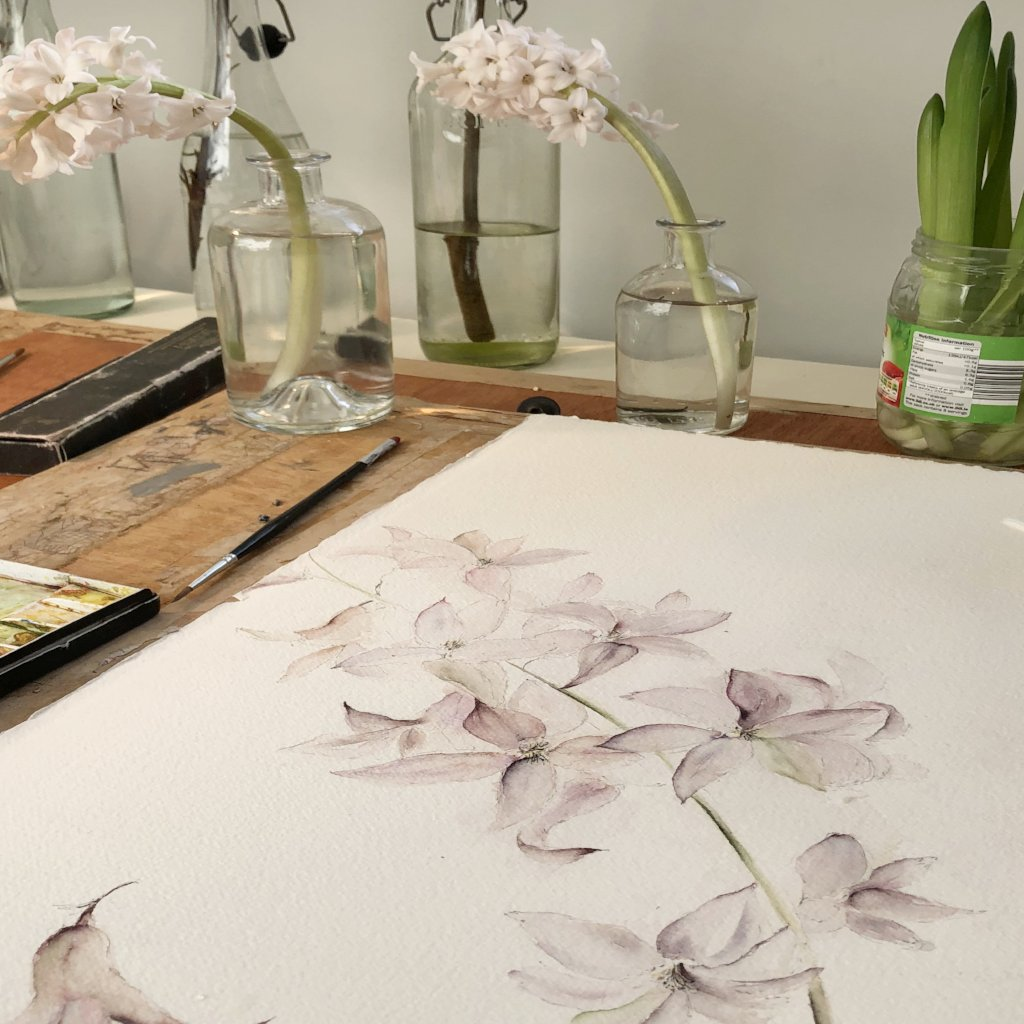Weekend Painting Workshop at Gloagburn Farm, Perth 21st - 22nd September 2019