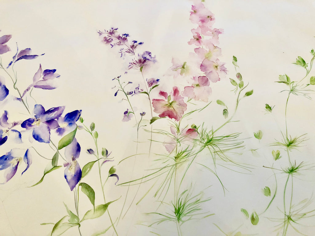 Painting Flowers - Watercolour Class at the beautiful VENACHER LOCHSIDE, NR. CALLANDER Tuesday 19th May 2020