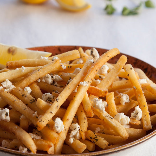 Garlic French Fries w/ Feta & Zaatar