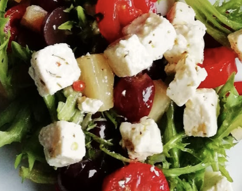 Add an extra Greek salad