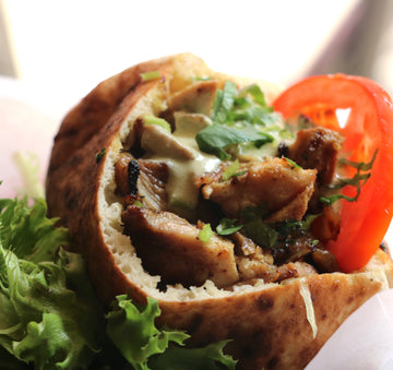 Grilled Chicken Shawarma Pita
