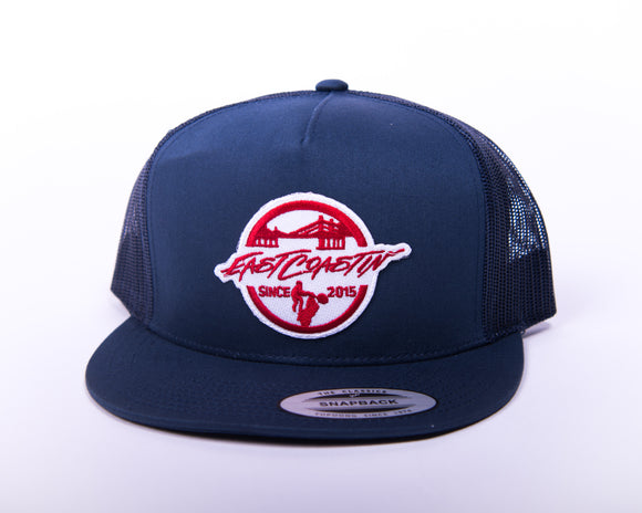 Blue Trucker Cap