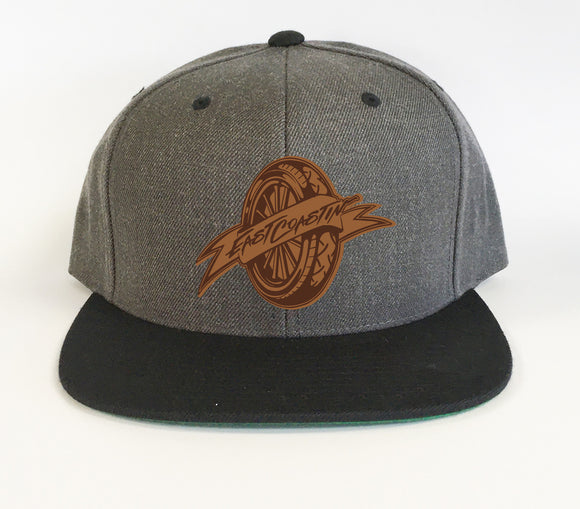 Eastcoastin Classic Grey Leather Patch
