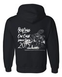 One Wheel Black Hoodie