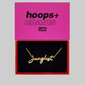 Junglist Chain - Hoops + Chains LDN