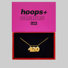 Load image into Gallery viewer, 420 Chain - Hoops + Chains LDN