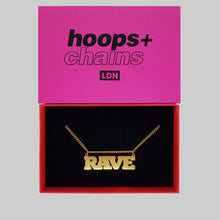 Load image into Gallery viewer, Rave Chain - Hoops + Chains LDN