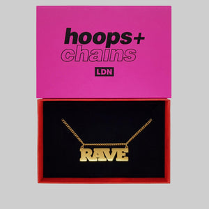 Rave Chain - Hoops + Chains LDN