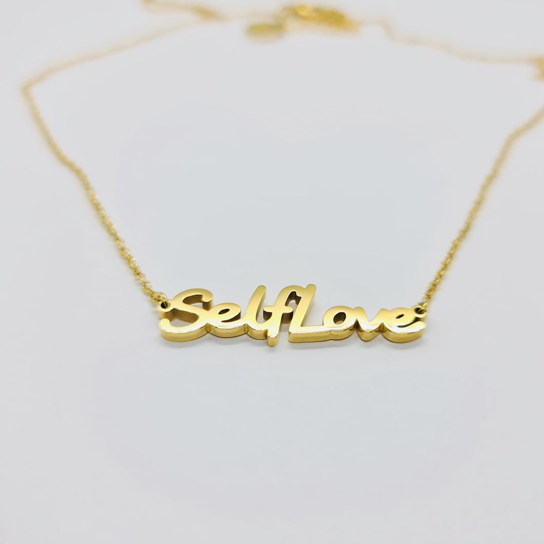 Self Love Chain - Hoops + Chains LDN