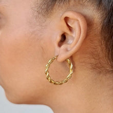 Load image into Gallery viewer, Adele Hoops - Hoops + Chains LDN